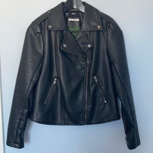 Urban Outfitters women's vegan leather jacket
